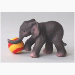 Ele. SCHLEICH Mit Ball spielender kl.Elefant