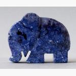 Ele. Kl. blauer Steinelefant